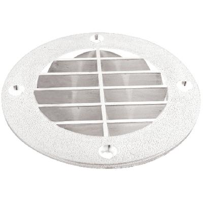Th Marine LV1FWDP Louvered Vent Cover White
