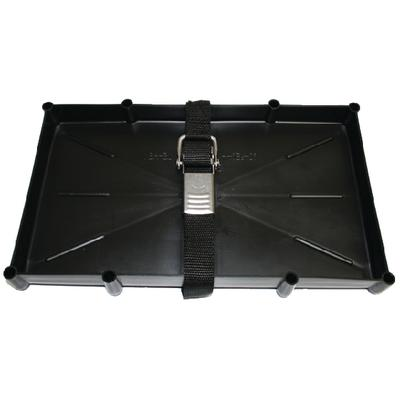 Th Marine NBH24SSCDP BATTERY TRAY WITH STAINLESS STEEL BUCKLE /