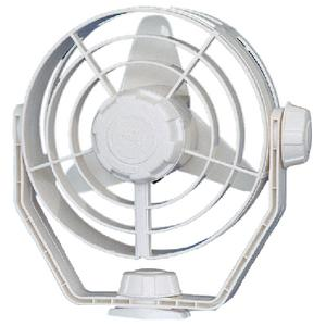 Hellamarine 003361022 UNIVERSAL FANS / FAN 12V 2-SPEED TURBO WHI