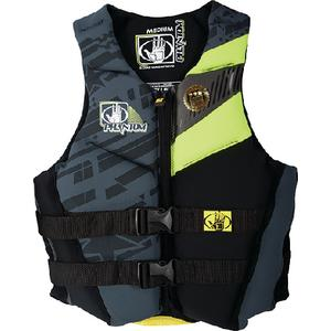 Body Glove Vests 12224W-XL-LEM/BLK Adult Phantom Neoprene Vest