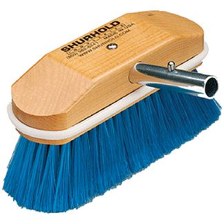 Shurhold 310 SPECIAL APPLICATION BRUSH / 8 NYLON SOFT BRUSH (BLU